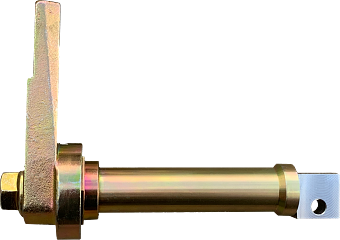 Anodised axle cutout 1